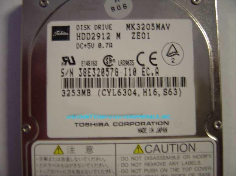 Toshiba MK3205MAV