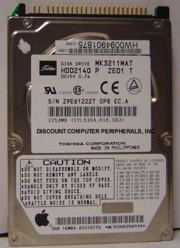 Toshiba MK3211MAT