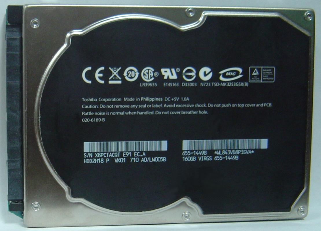 Toshiba MK3253GSX