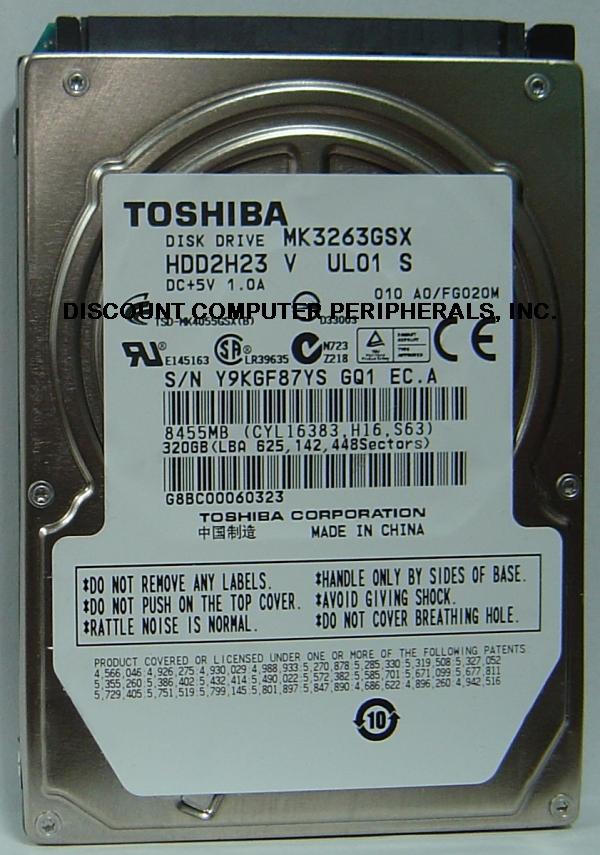 Toshiba MK3263GSX