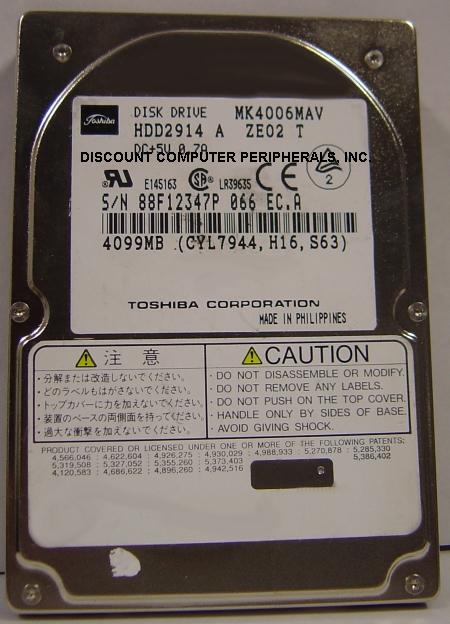 Toshiba MK4006MAV