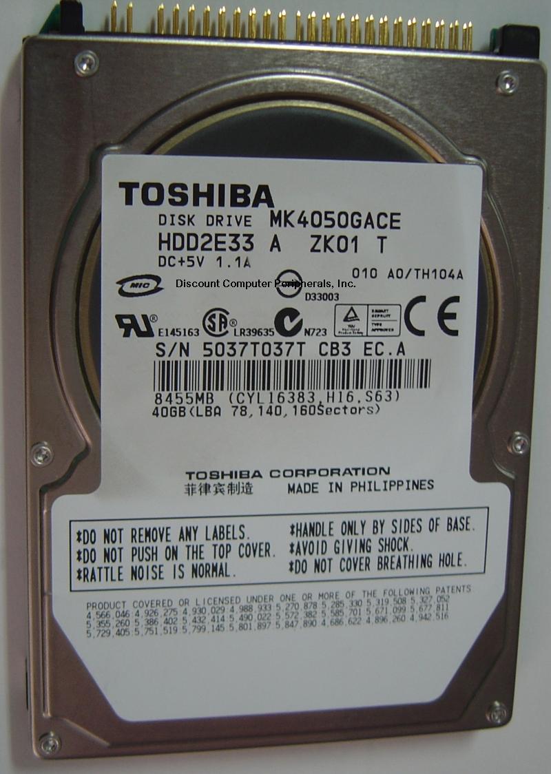 Toshiba MK4050GACE