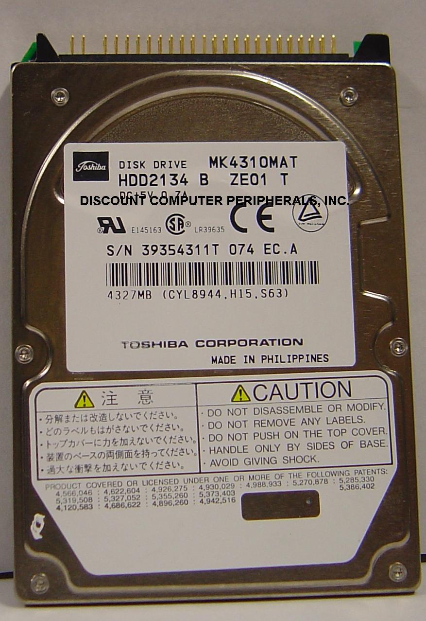 Toshiba MK4310MAT