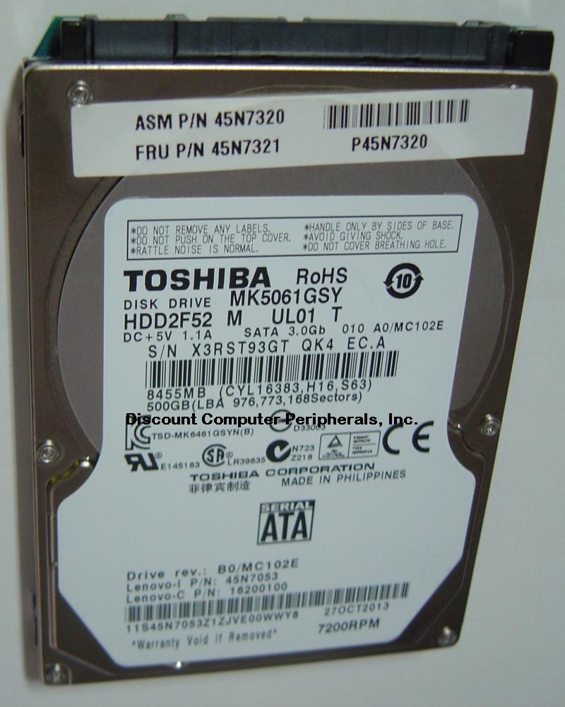 Toshiba MK5061GSY