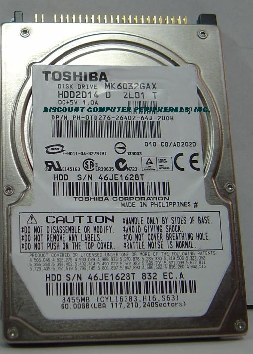 Toshiba MK6032GAX