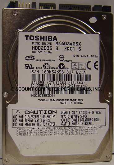 Toshiba MK6034GSX