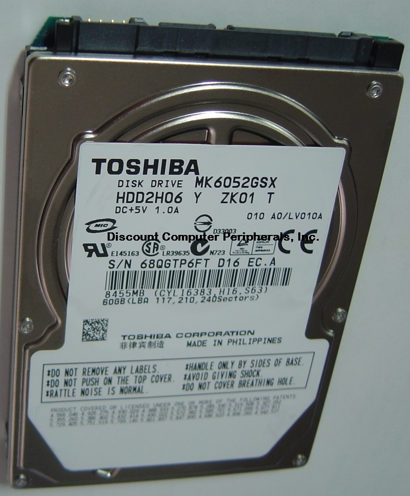 Toshiba MK6052GSX