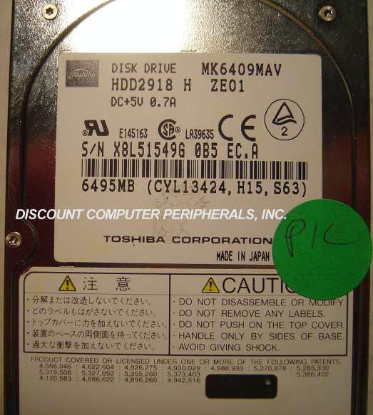 Toshiba MK6409MAV