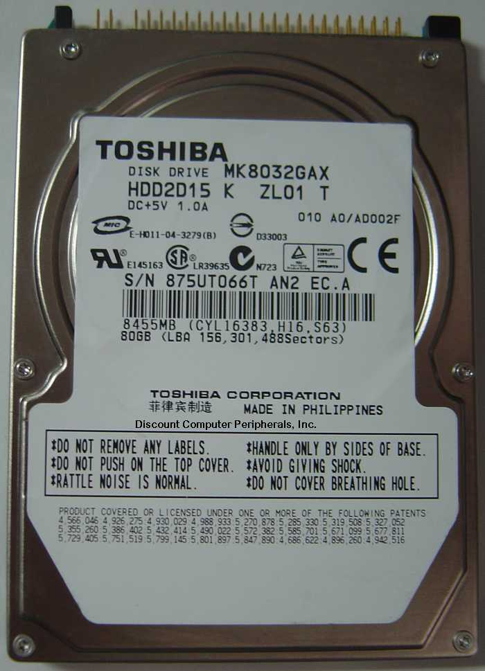 Toshiba MK8032GAX_NEW
