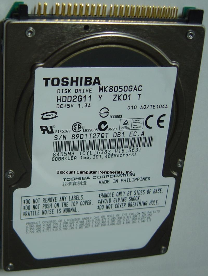 Toshiba MK8050GAC