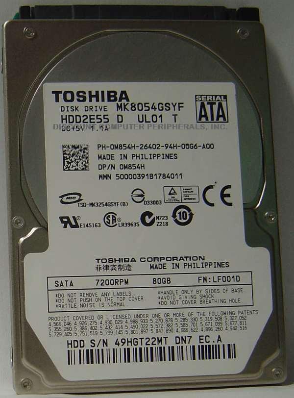 Toshiba MK8054GSYF