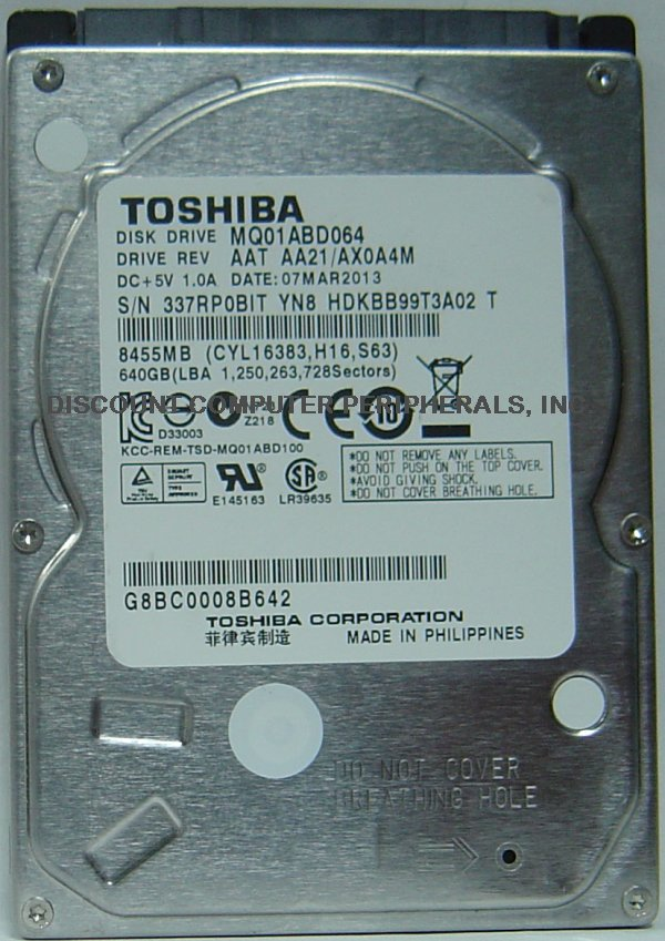 Toshiba MQ01ABD064