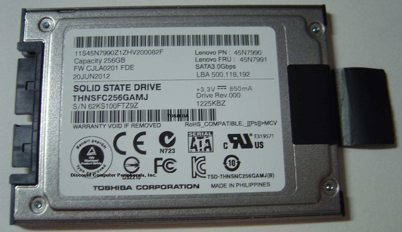 Toshiba THNSFC256GAMJ