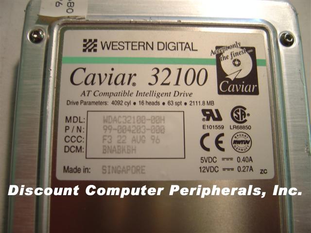 Wd AC32100