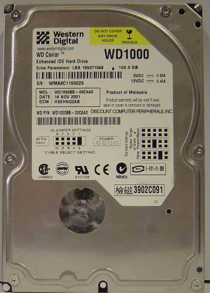 Wd WD1000BB