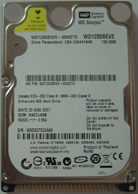Wd WD1200BEVE_NEW
