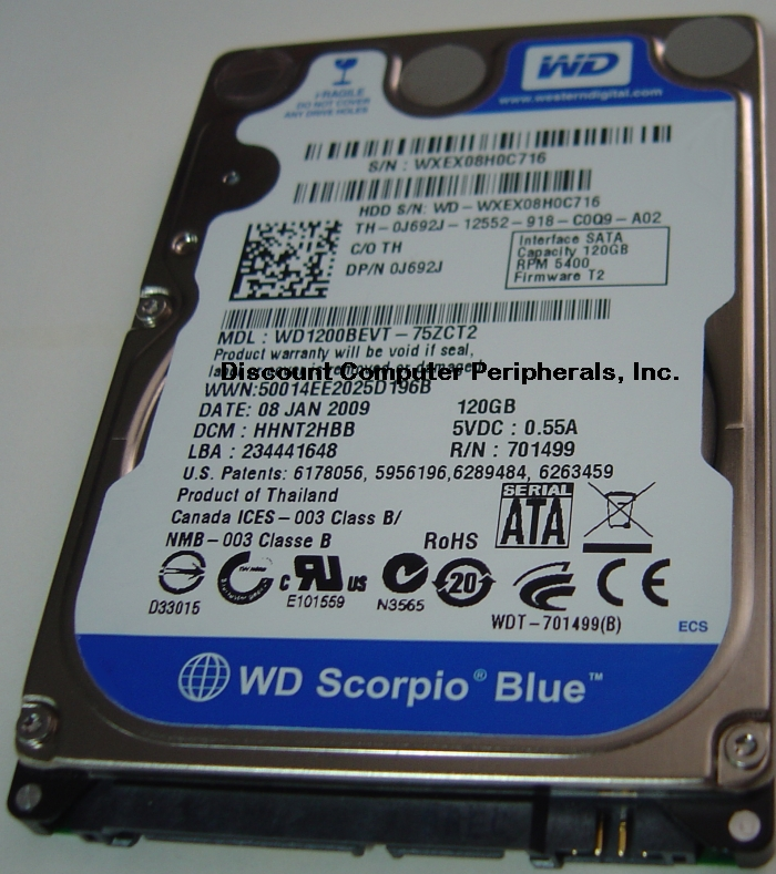 Wd WD1200BEVT