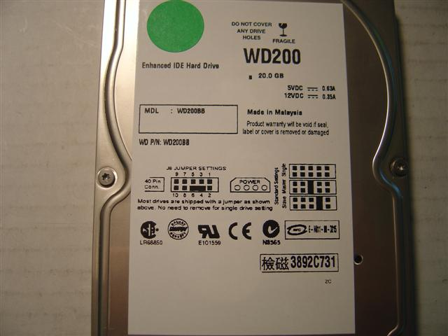 Wd WD200BB
