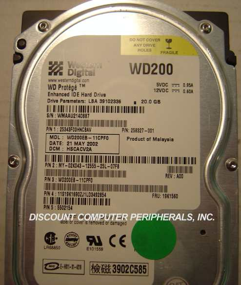 WD WD200EB