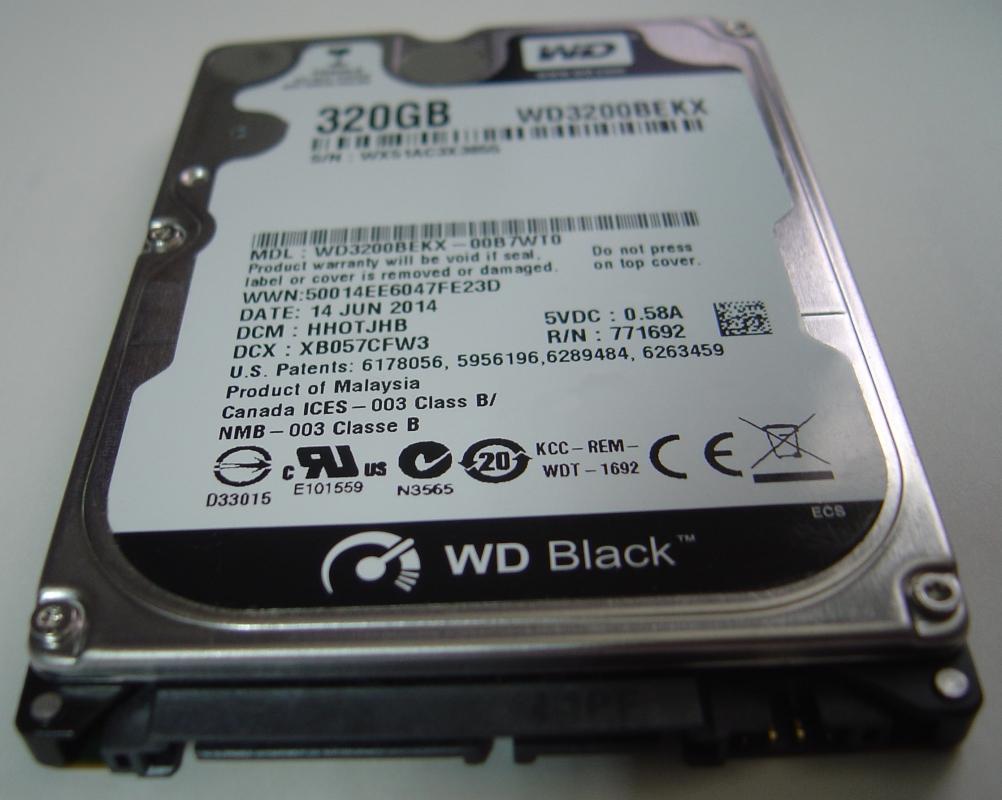 Wd WD3200BEKX
