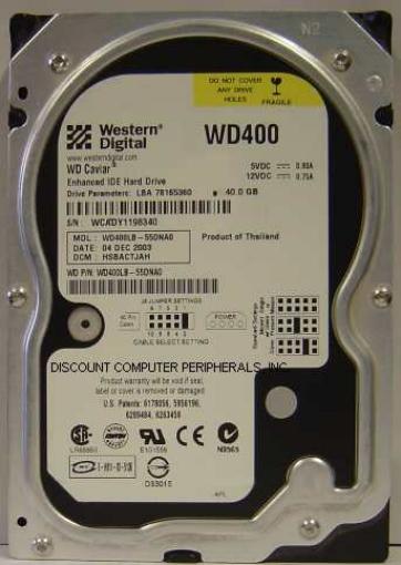 Wd WD400LB