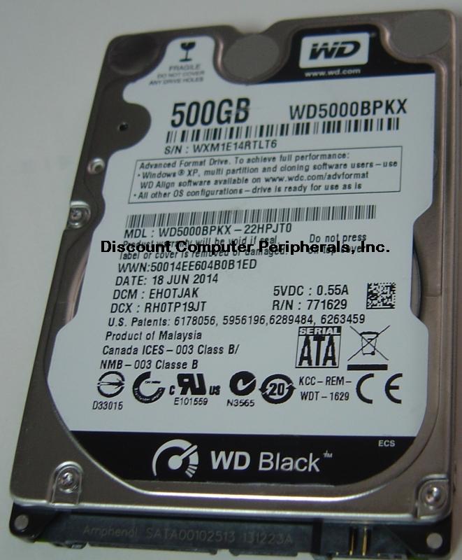 Wd WD5000BPKX