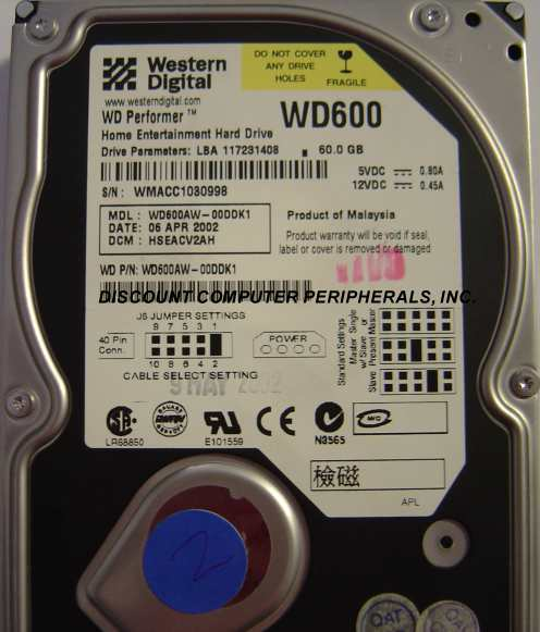 Wd WD600AW