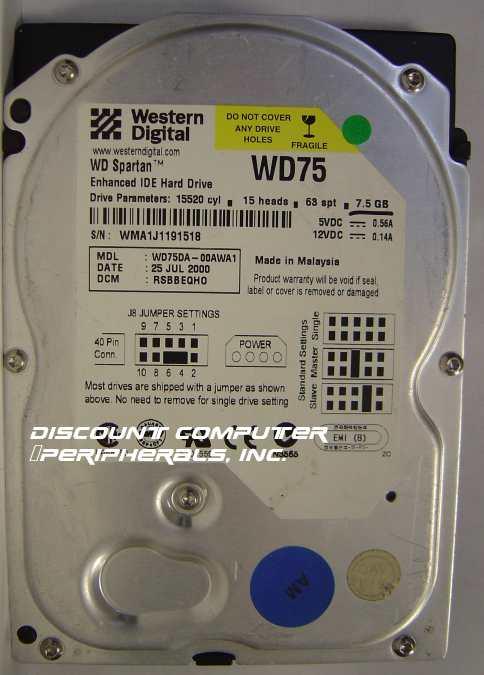 Wd WD75DA