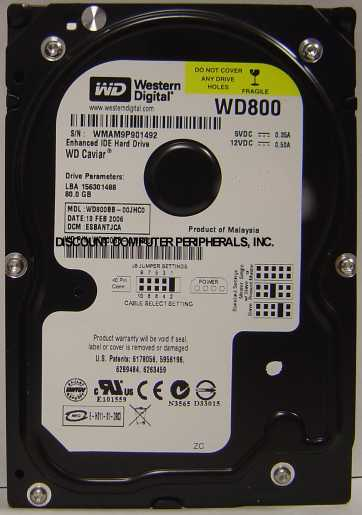 Wd WD800BB