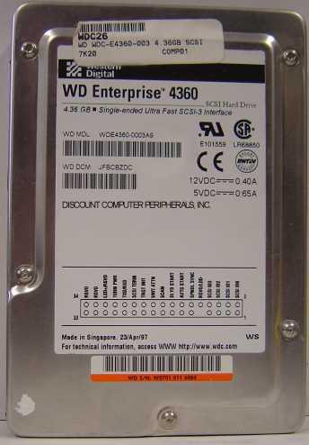 Wd WDE4360-50PIN